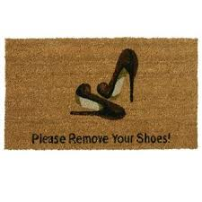 Remove your shoes
