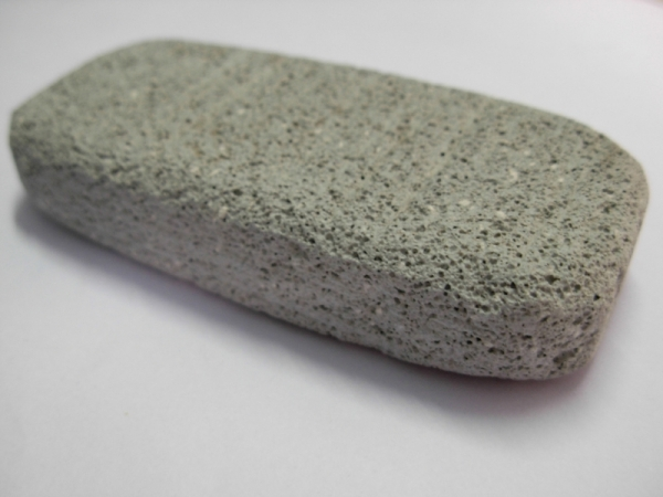 Red Pumice Stone : Conquering the curse of dry heels jaspa king